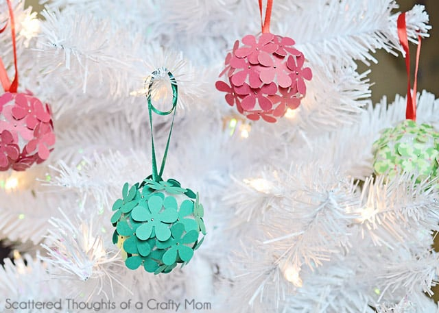 Take A Look At These Pretty Paper Ornaments You Can Make With The Kids This Holiday Season