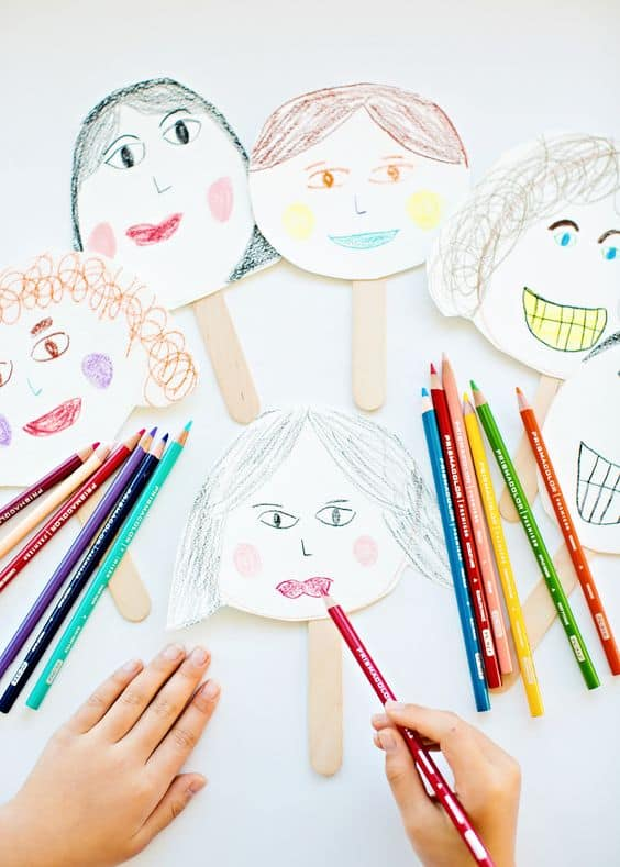 12 Creative Self Portrait Art Projects For Kids
