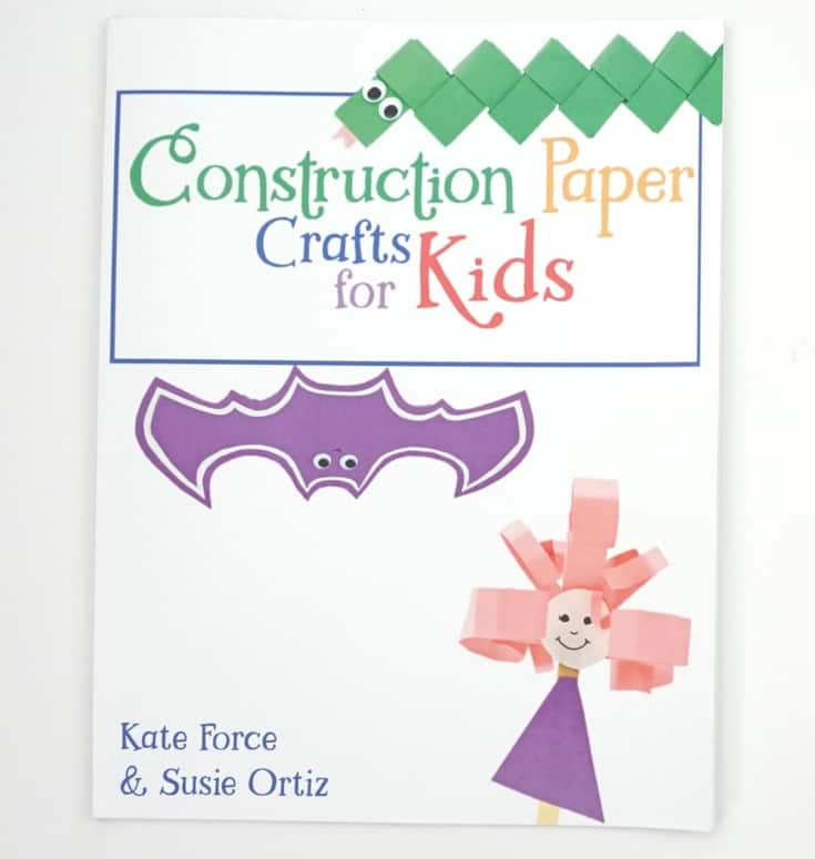 Construction Paper Crafts For Kids Book Shop