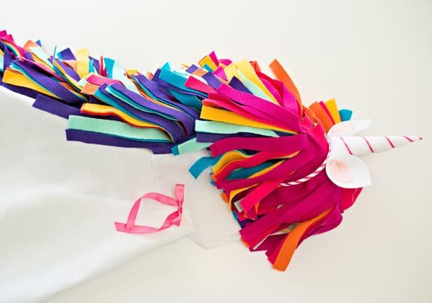Diy No Sew Felt Rainbow Unicorn Costume For Kids