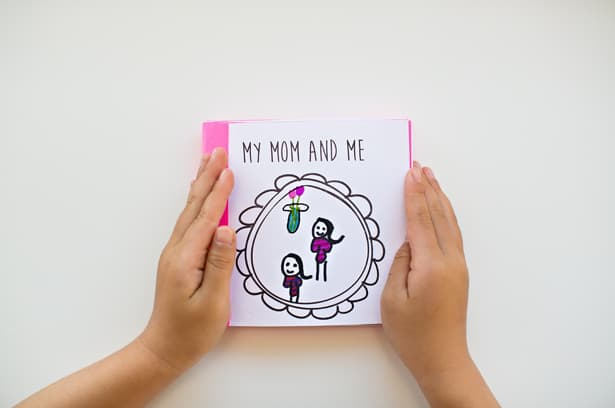 heres a sweet and thoughtful book kids can make for mothers day thats a unique reflection of everything they love about mom use our free printable to - Free Printable Books For Kids