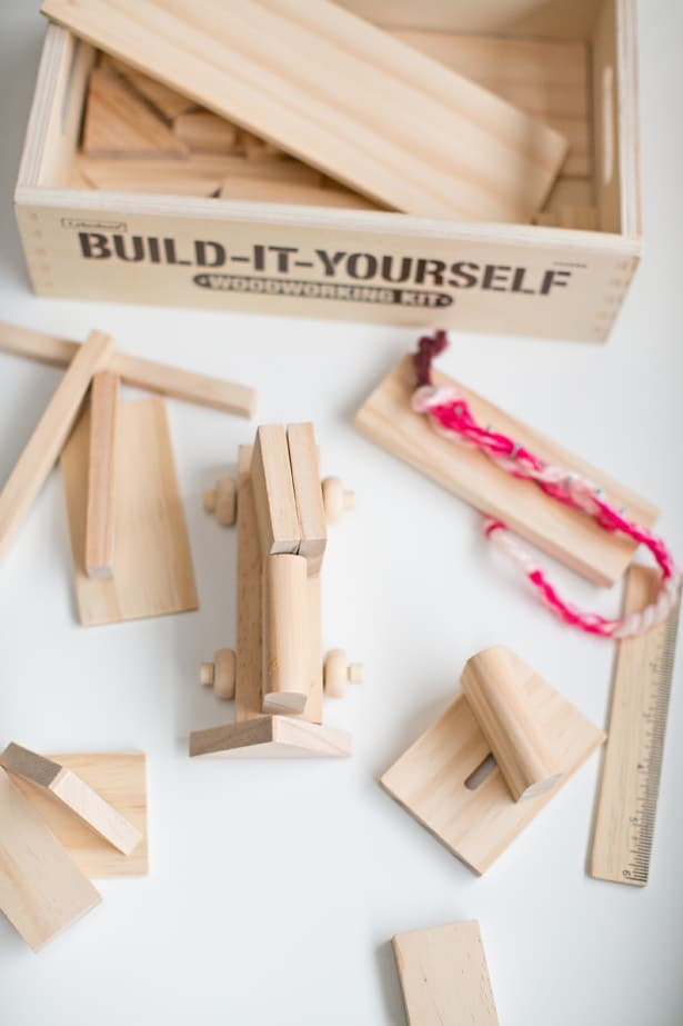 WOODWORKING KIT FOR KIDS FROM LAKESHORE LEARNING