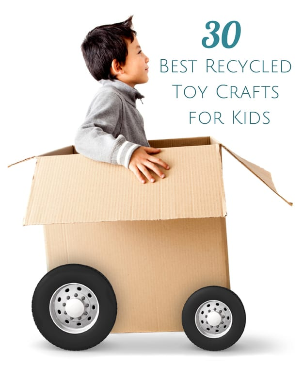 30 Best Recycled Toy Crafts For Kids