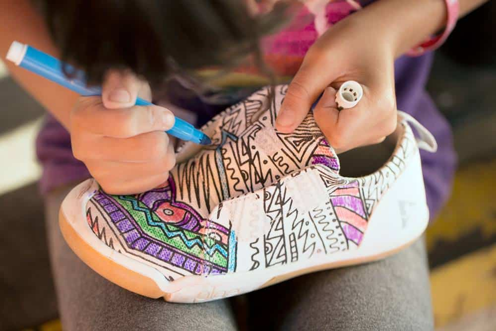 ARTISTIC SHOES KIDS CAN DESIGN FROM PLAE