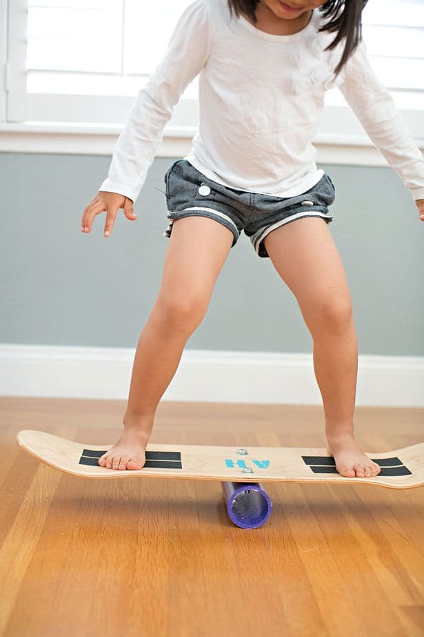 How to make a skate balance board my daughter just took off using the balance board she loved teetering on it and practicing her moves if you want to ease kids in slowly its easier to solutioingenieria Images