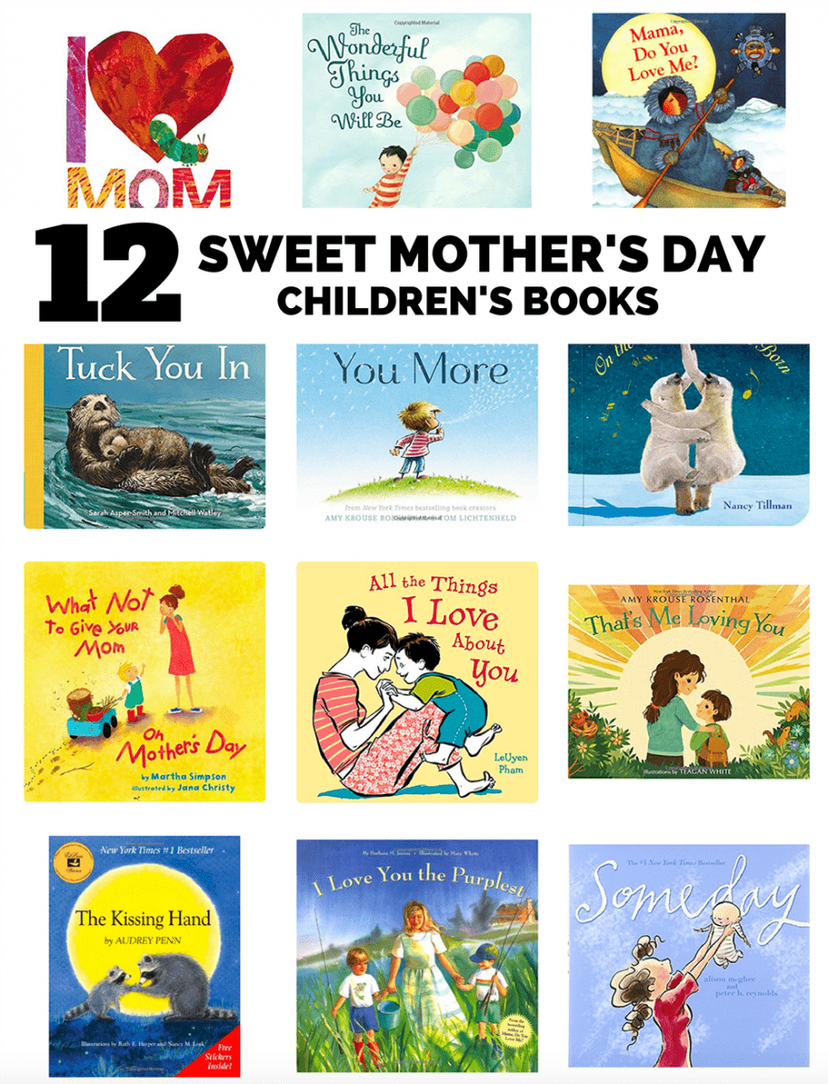 12 SWEET MOTHER'S DAY CHILDREN'S BOOK