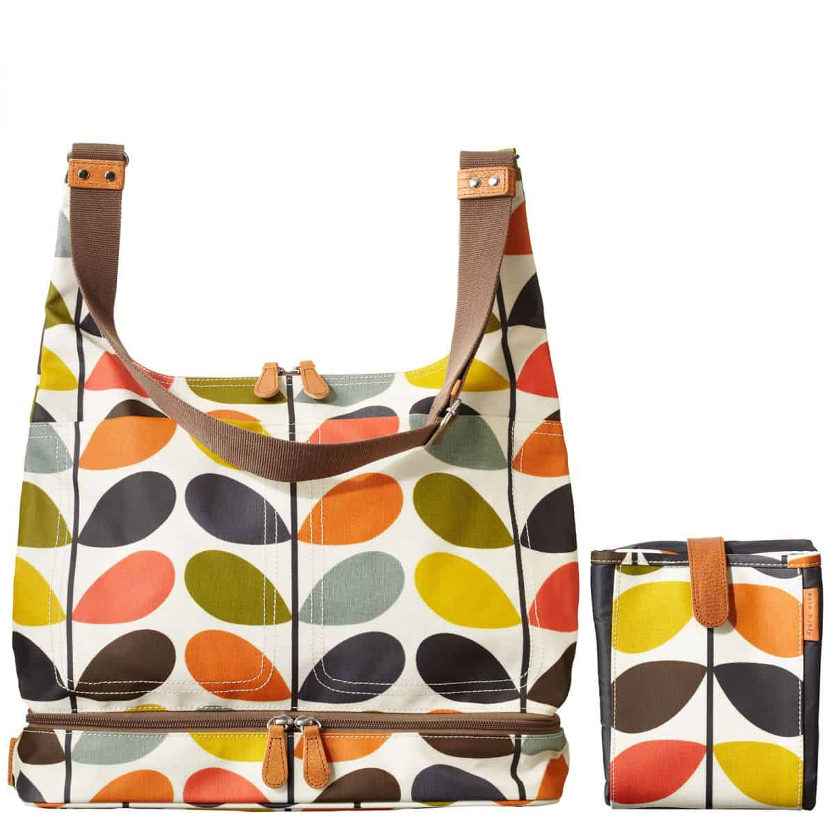 28740e8deef Orla Kiely Baby Changing Bag in Multi-Stem  244. My all-time favorite  designer Orla Kiely features her iconic multi-stem print on this laminated  canvas ...