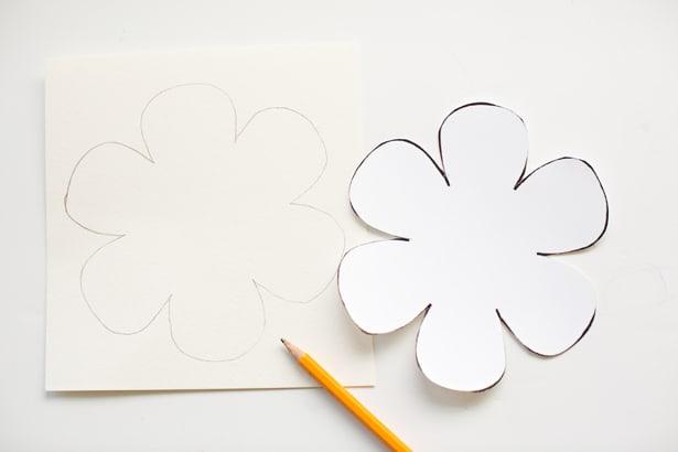 kid made diy string art flower cards. Black Bedroom Furniture Sets. Home Design Ideas