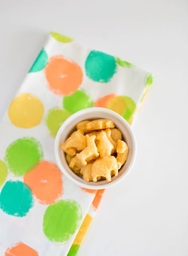 Cheese Animal Crackers | Kids Birthday Party Food Ideas They Won't Snub | simple party food ideas buffet