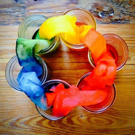 Rainbow Color Wheel Via Chasing Cheerios Learn How Absorption Works By Setting Up This Easy