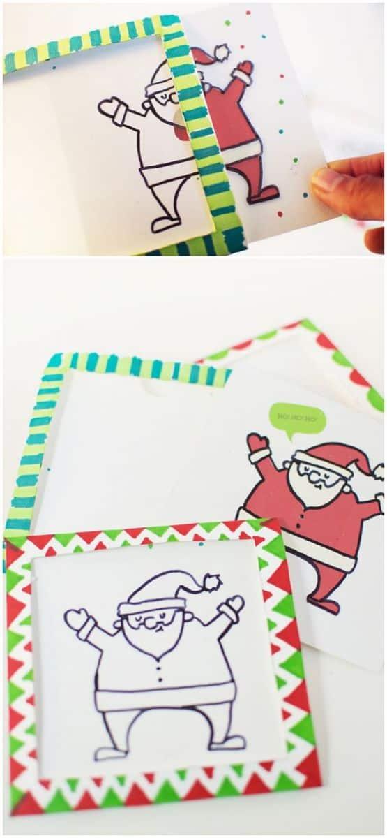 DIY MAGIC TRICK CHRISTMAS CARD