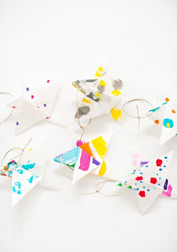 Heres A Round Of Up More Pretty Paper Ornaments You Can Make Or Take Look Festive DIY Holiday Ideas For Kids Here
