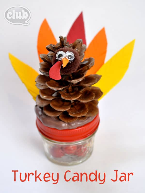 thanksgiving craft gift ideas make a turkey jar 5553