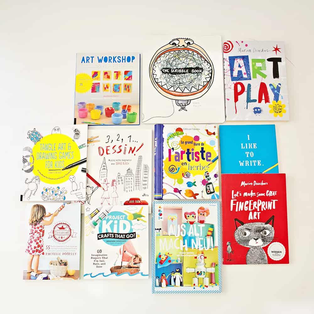 TOP ARTS AND CRAFTS BOOKS FOR KIDS - HOLIDAY GIFT GUIDE