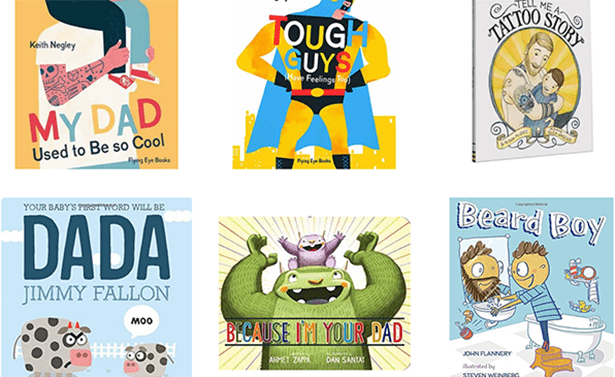 A collection of fun Father's Day children's books for kids and dads to enjoy together!