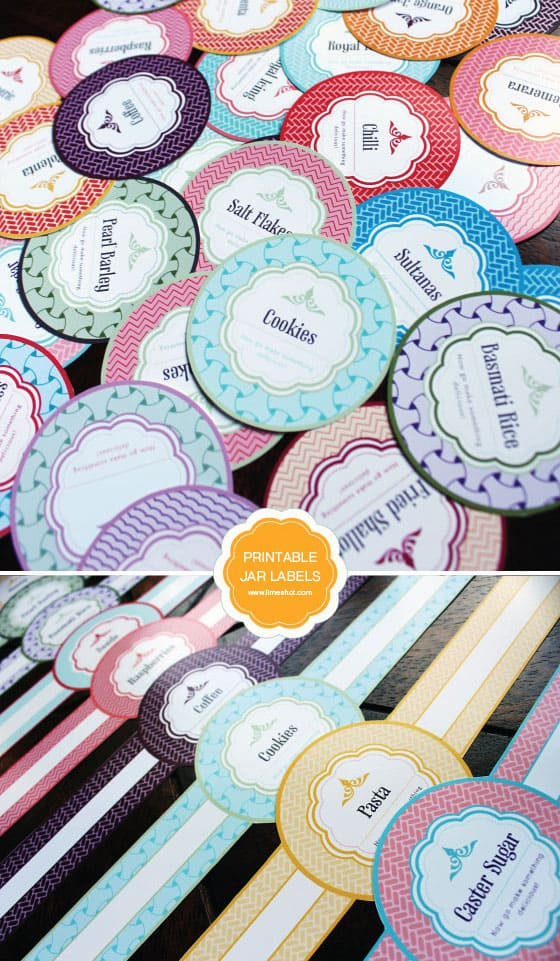 picture relating to Printable Jar Labels named Absolutely free PRINTABLE MASON JAR LABELS