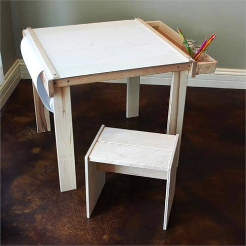 roll included all wrapped up in one little table that can easily be moved from room to room encouraging a constant stream of art and creativity 100