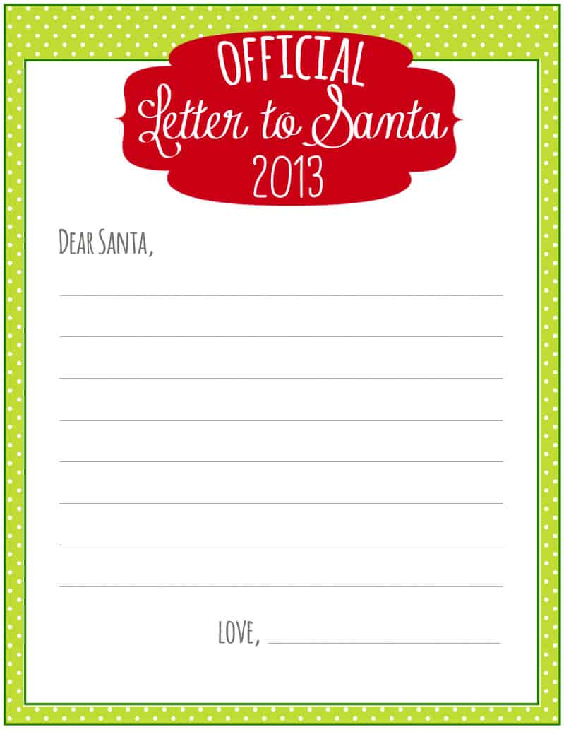 santa letters free 8 free printable letters to santa 24724