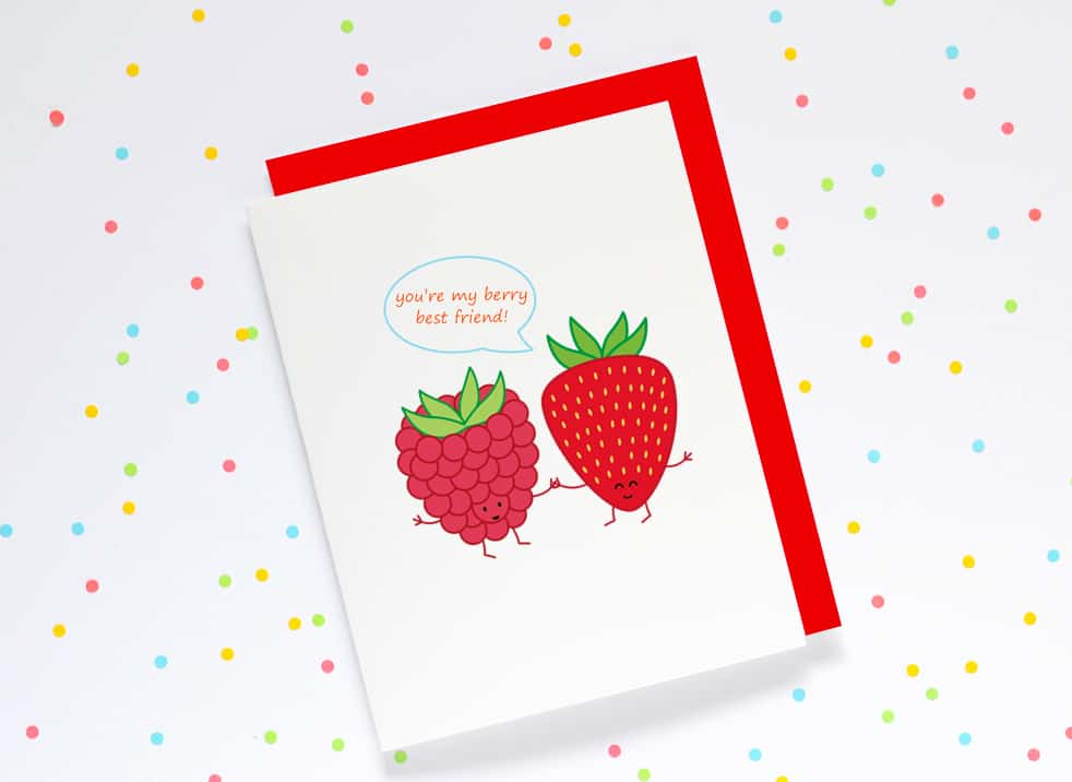 CUTE AND PUNNY STATIONERY FROM QUEENIES CARDS