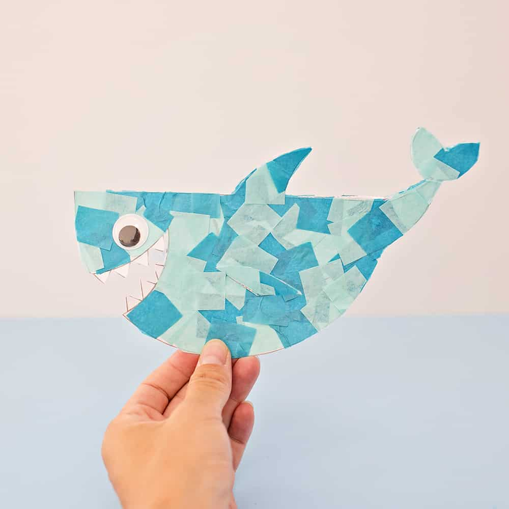 hello wonderful cute rocking paper shark craft an error occurred