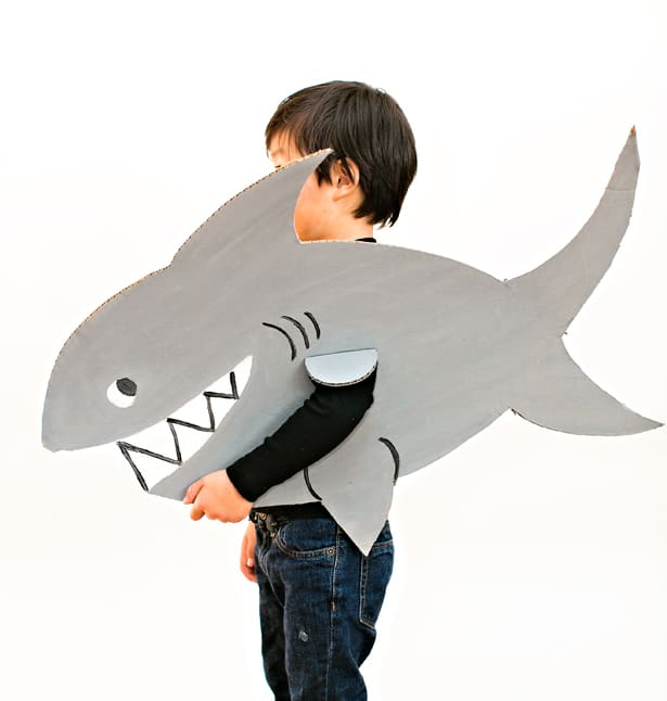 12 Ferociously Cute Shark Crafts For Kids