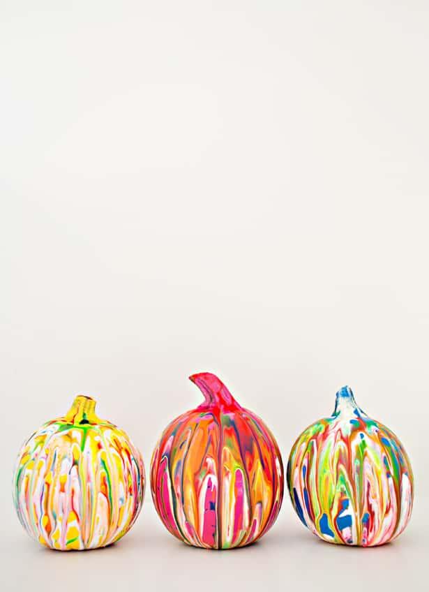 Squeeze Paint Pumpkin Art Easy No Carve Pumpkin Idea For Kids