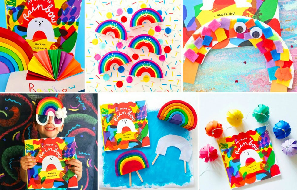 40 Brilliant Rainbow Kids Crafts And Activities