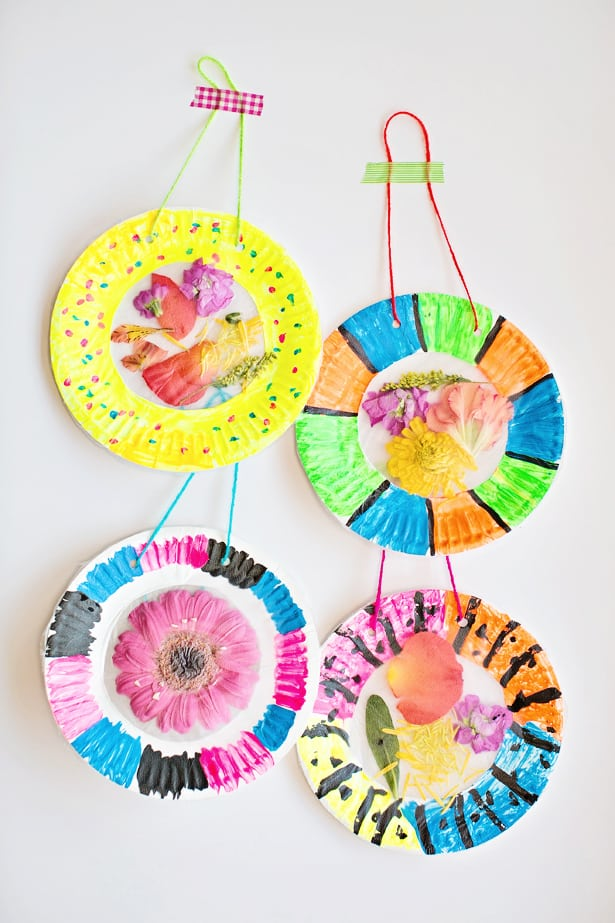 sun craft ideas colorful and easy flower suncatcher craft 3030