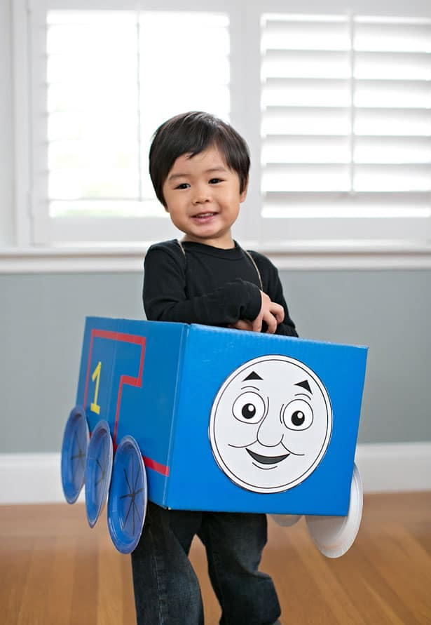 image about Thomas and Friends Printable Faces named THOMAS AND Buddies COSTUMES + 5 PRINTABLE FACES