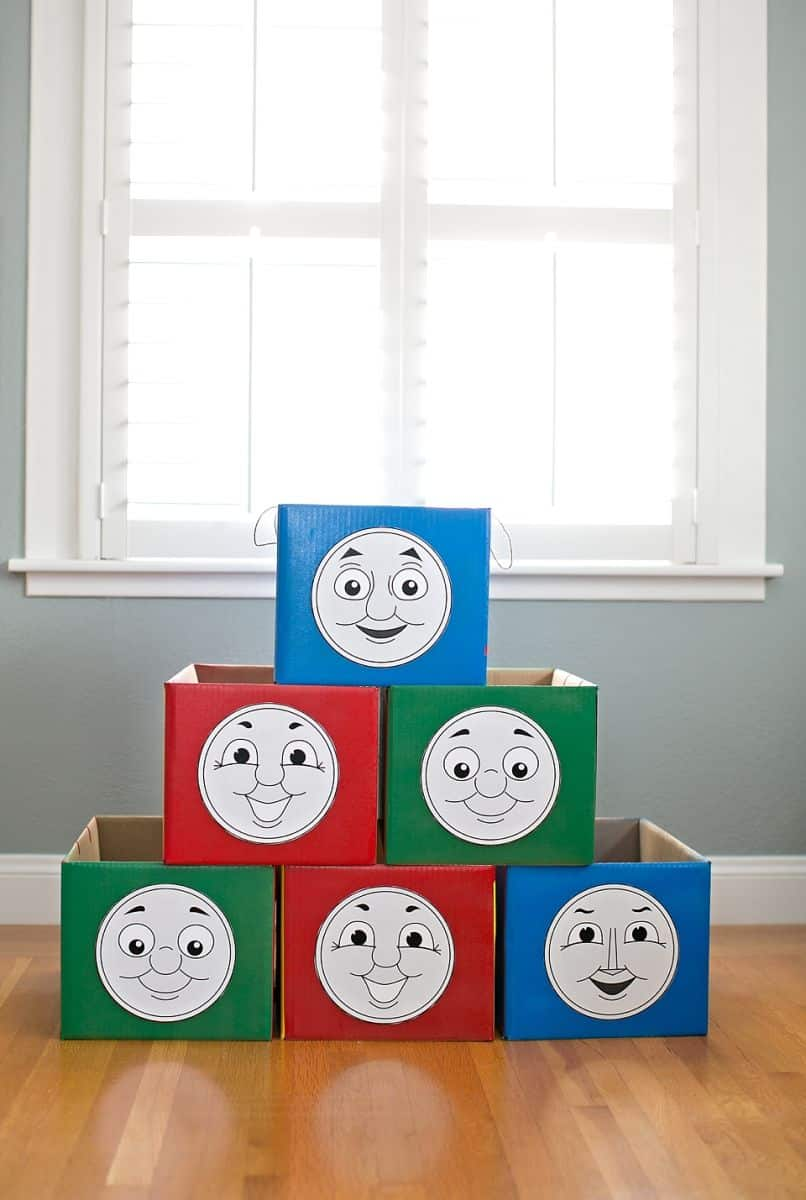 image about Thomas and Friends Printable Faces referred to as THOMAS AND Pals COSTUMES + 5 PRINTABLE FACES
