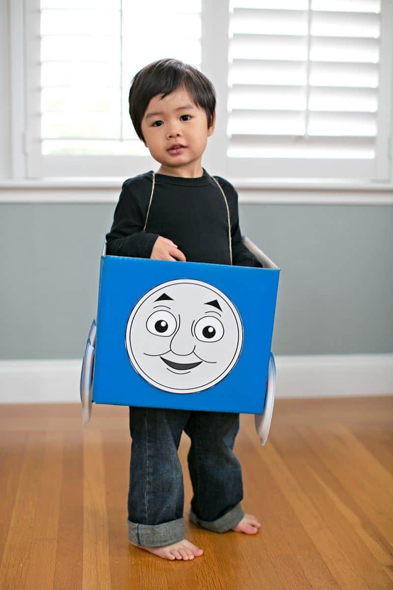 image regarding Thomas and Friends Printable Faces named THOMAS AND Pals COSTUMES + 5 PRINTABLE FACES