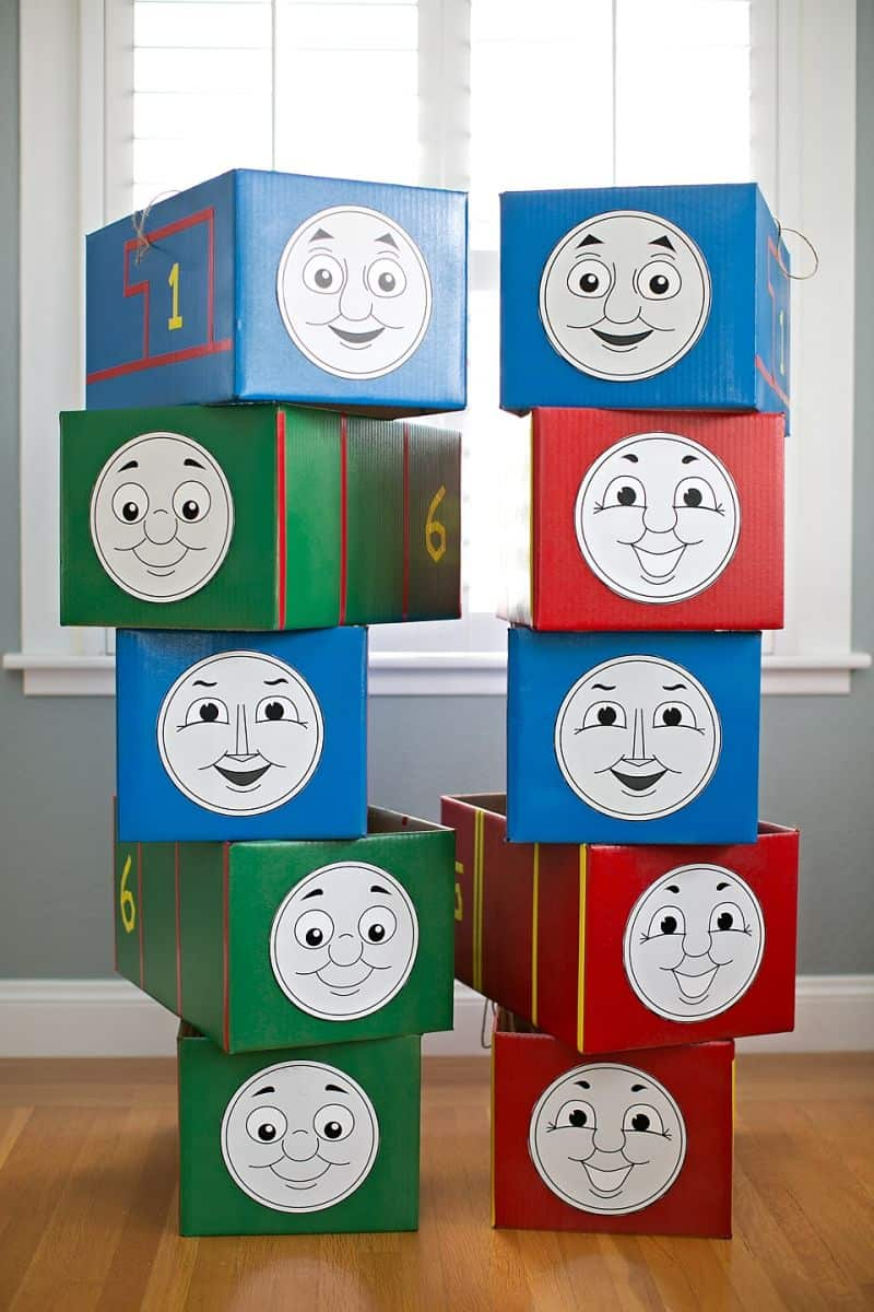 graphic relating to Thomas and Friends Printable Faces called THOMAS AND Pals COSTUMES + 5 PRINTABLE FACES