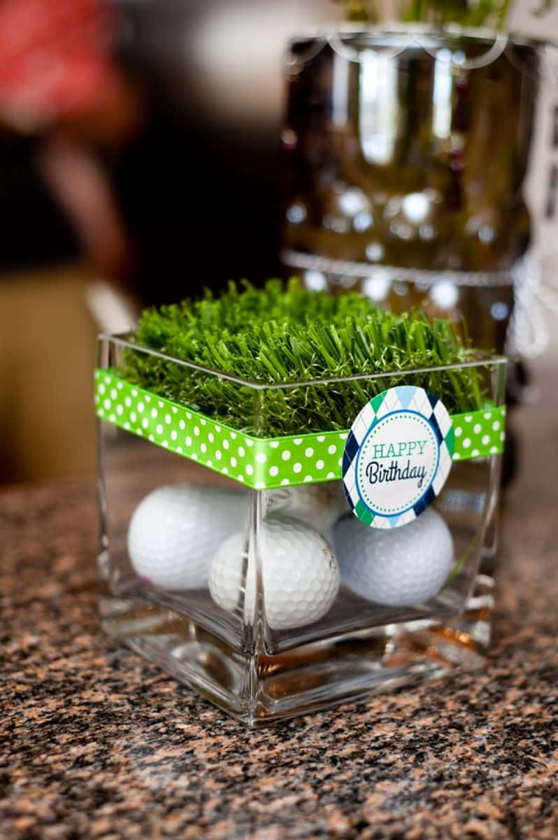 PARTY INSPIRATION ADORABLE GOLF