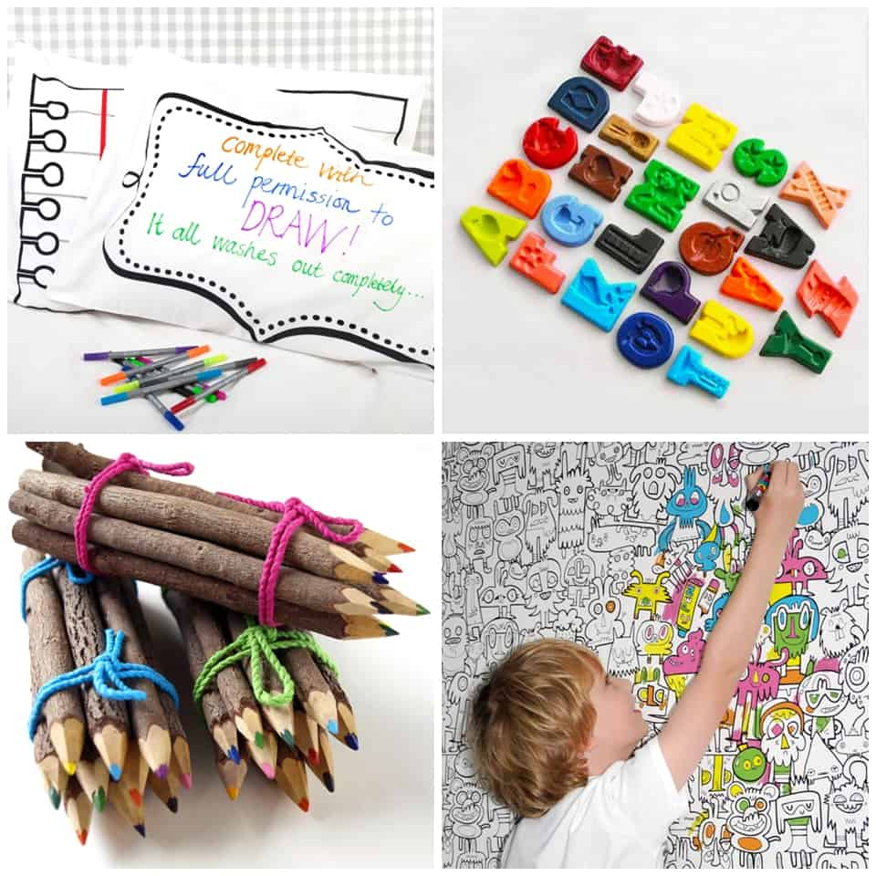 You Wont Find Your Typical Crayola Art Supplies Here But Instead A Wonderful Mix Of Like Twig Or Rainbow Pencils And Alphabet Crayons