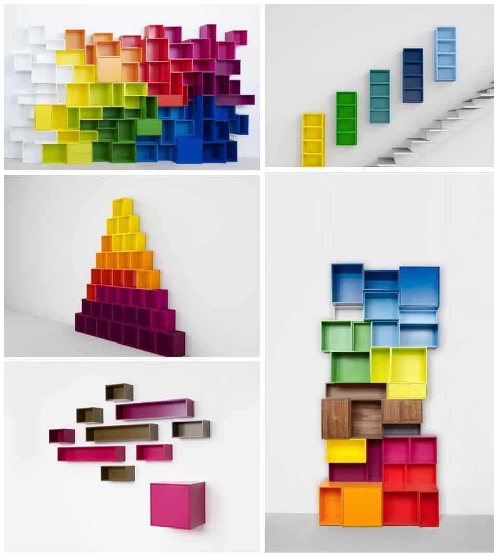 Cubit modular shelves - Modular bedroom furniture systems ...