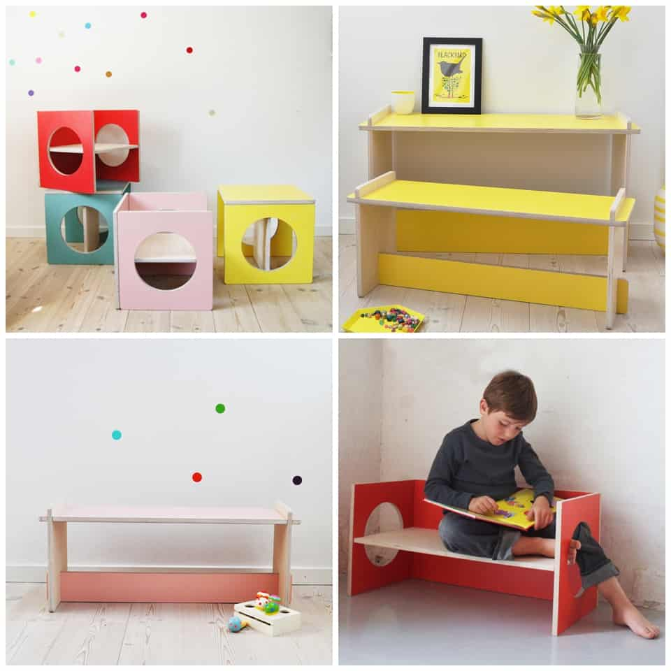 A childrens furniture company founded by two designers from the danish design school characteristic scandinavian design philosophy is seen throughout