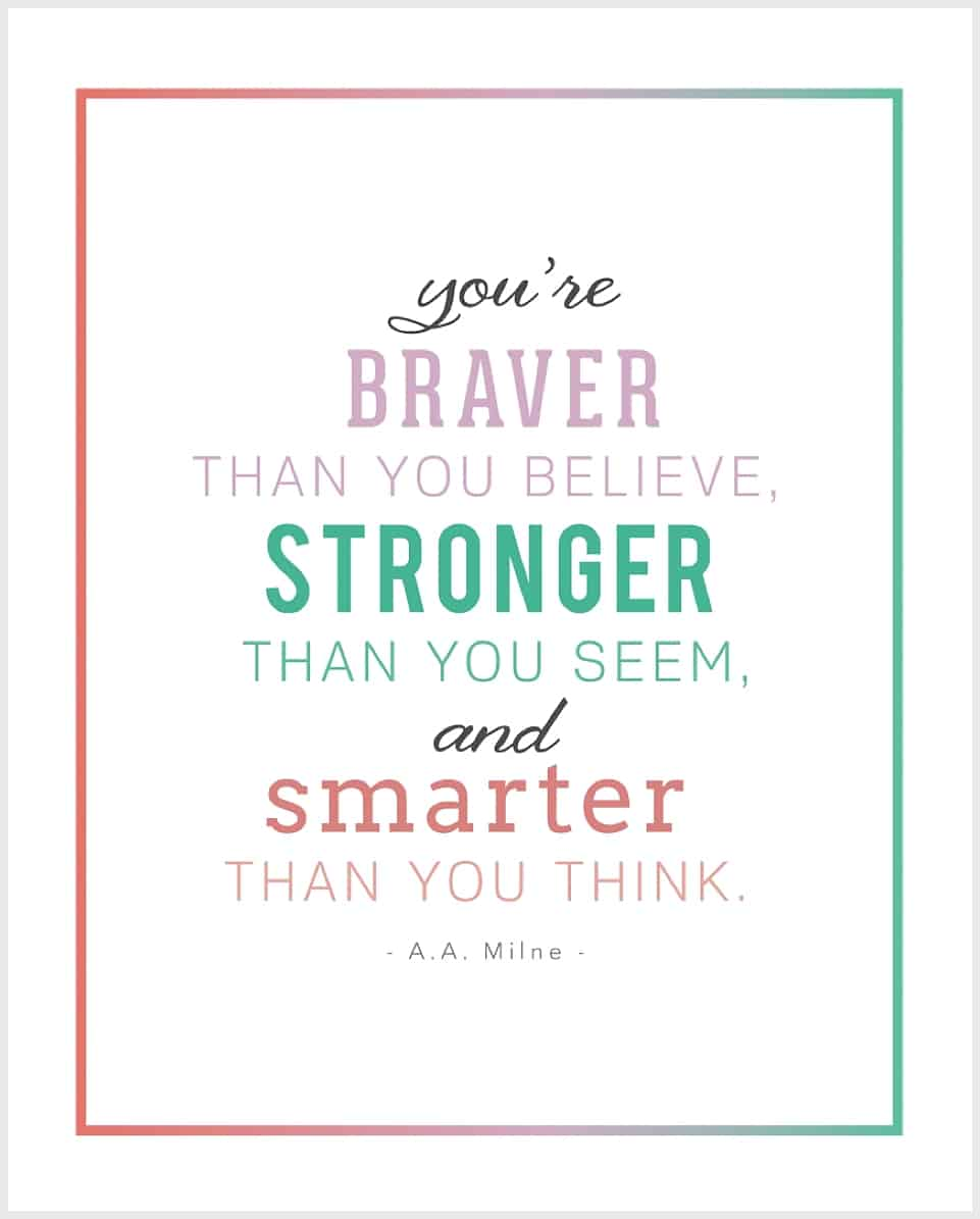 5 FREE PRINTABLE INSPIRATIONAL CHILDRENu0026#39;S QUOTES