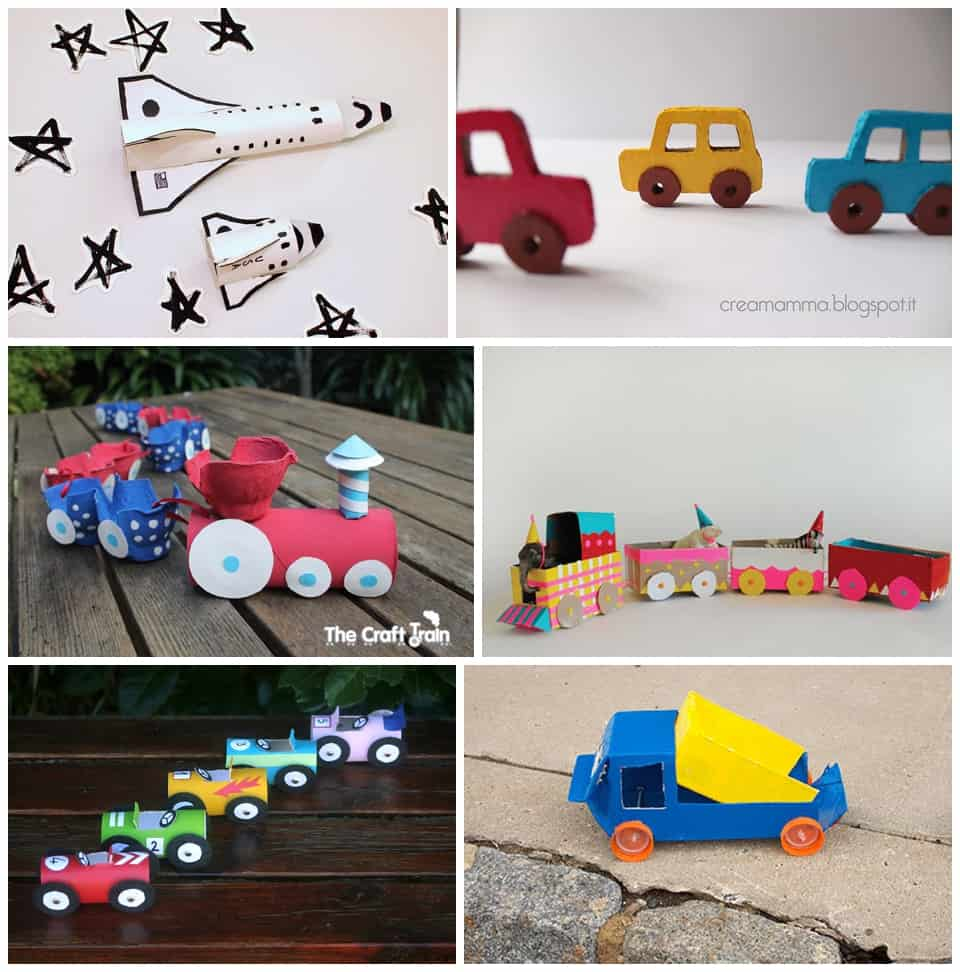 30 best recycled toy crafts for kids for Craft toys for kids