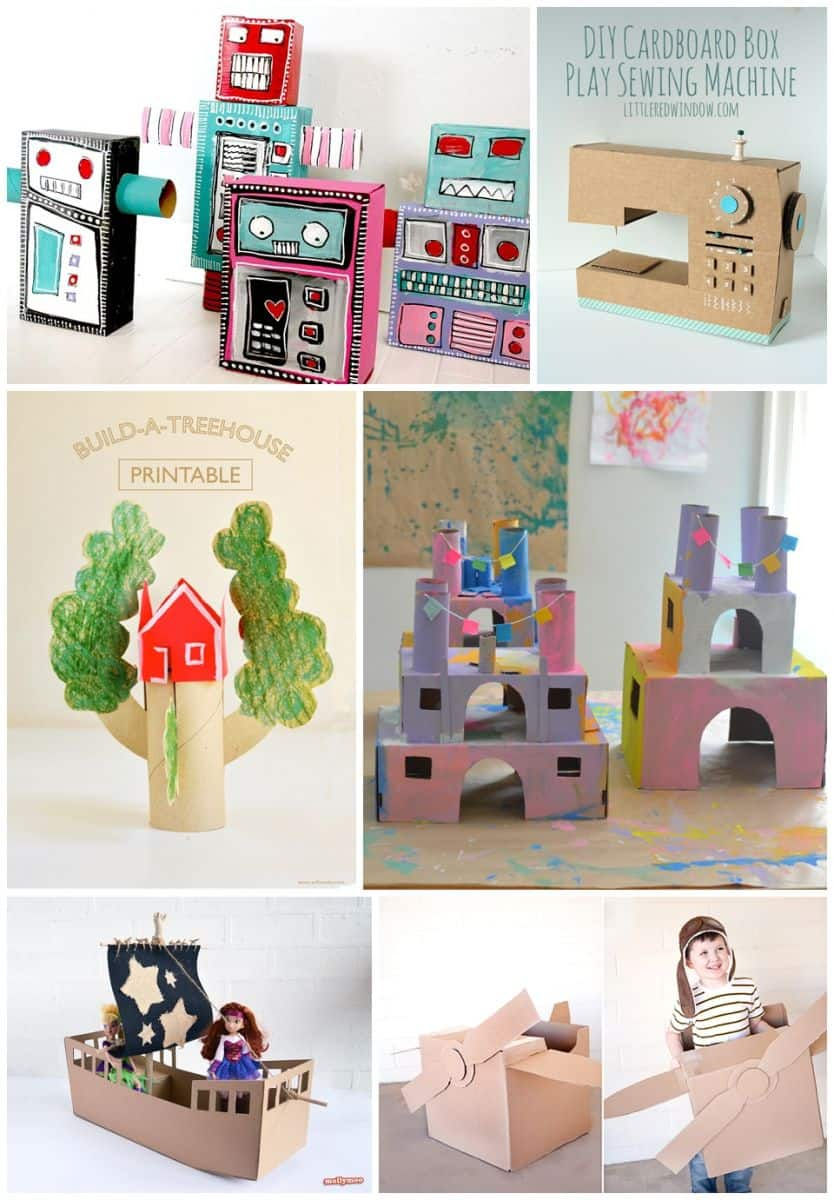30 best recycled toy crafts for kids for Diy crafts with things around the house