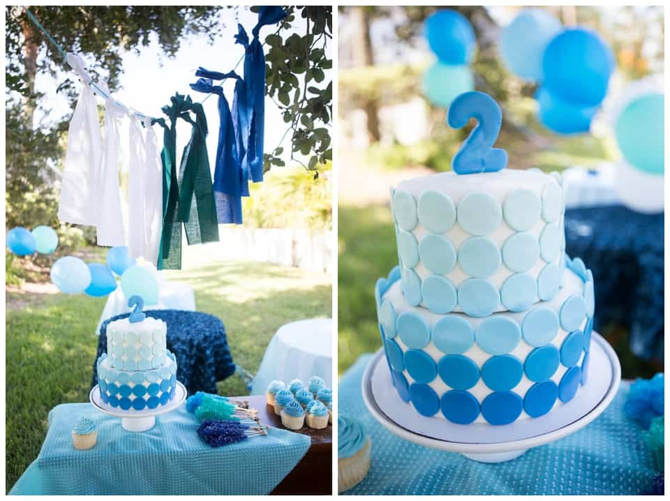 BRIGHT AND FUN BLUE OMBRE PARTY