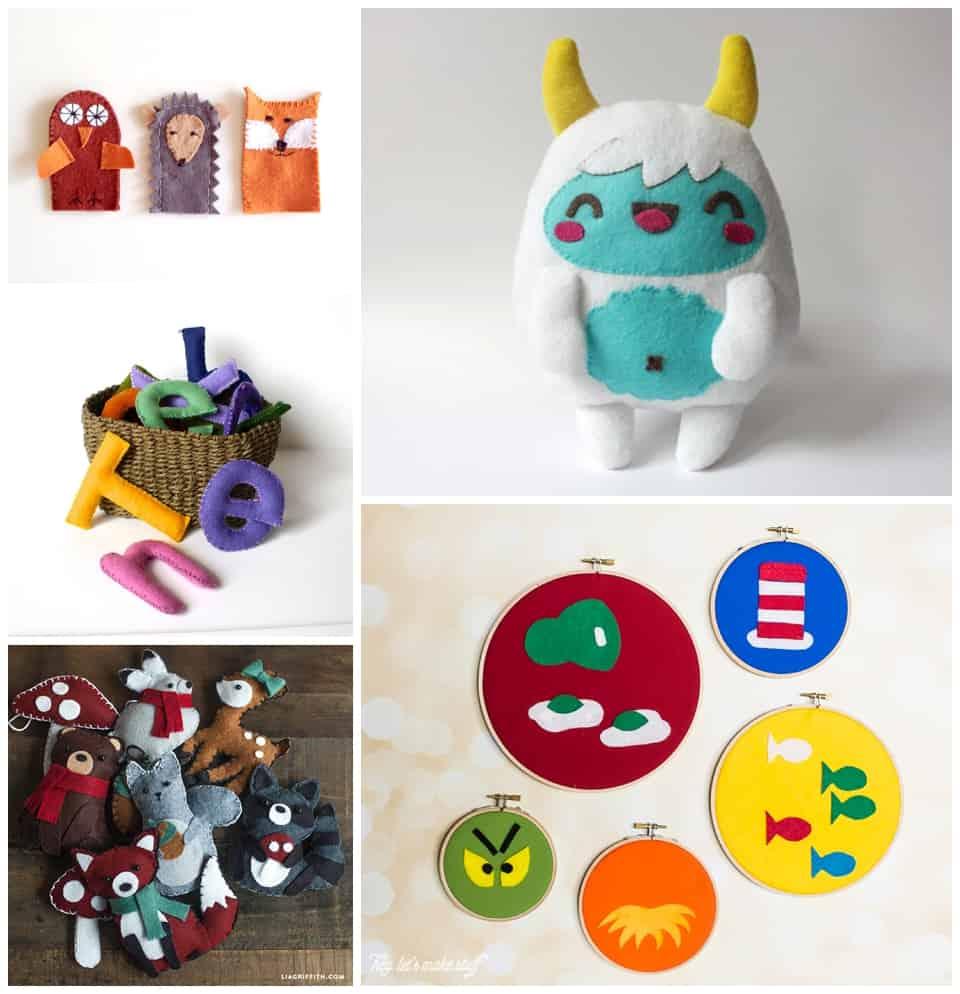 20 Fantastic Felt Projects For Kids
