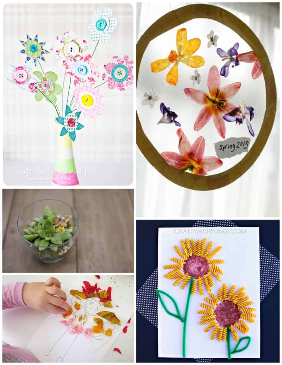 20 Fun Spring Crafts To Celebrate Spring