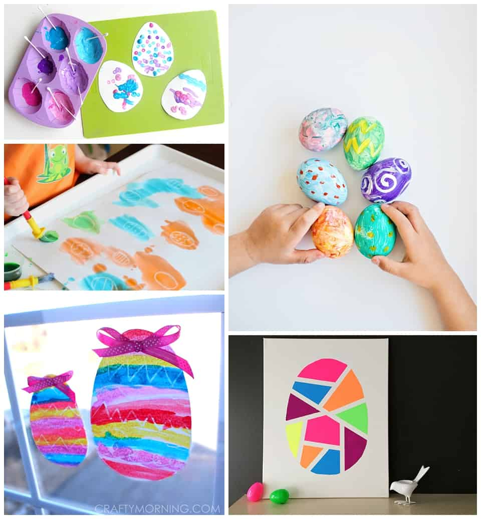 15 Colorful Easter Art Projects