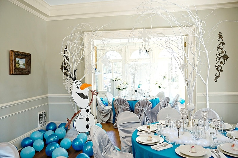 MAGICAL FROZEN THEMED BIRTHDAY PARTY