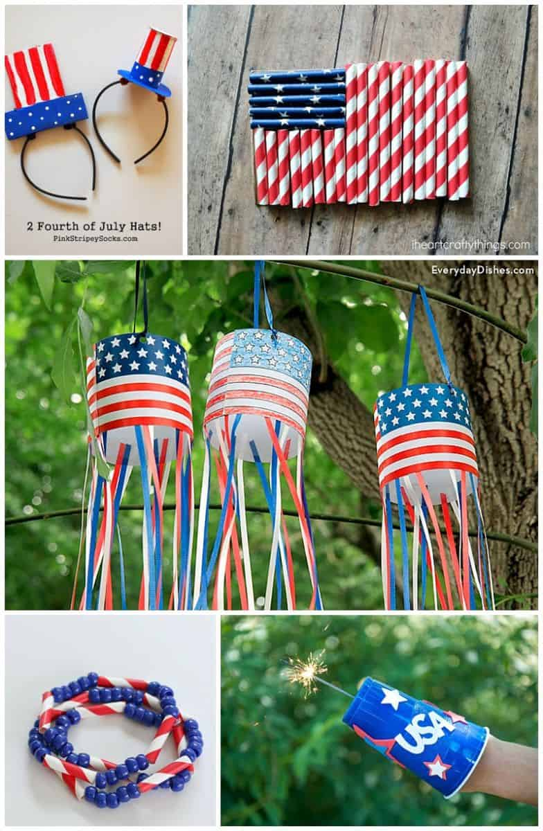 20 festive patriotic crafts for kids for Americana crafts to make