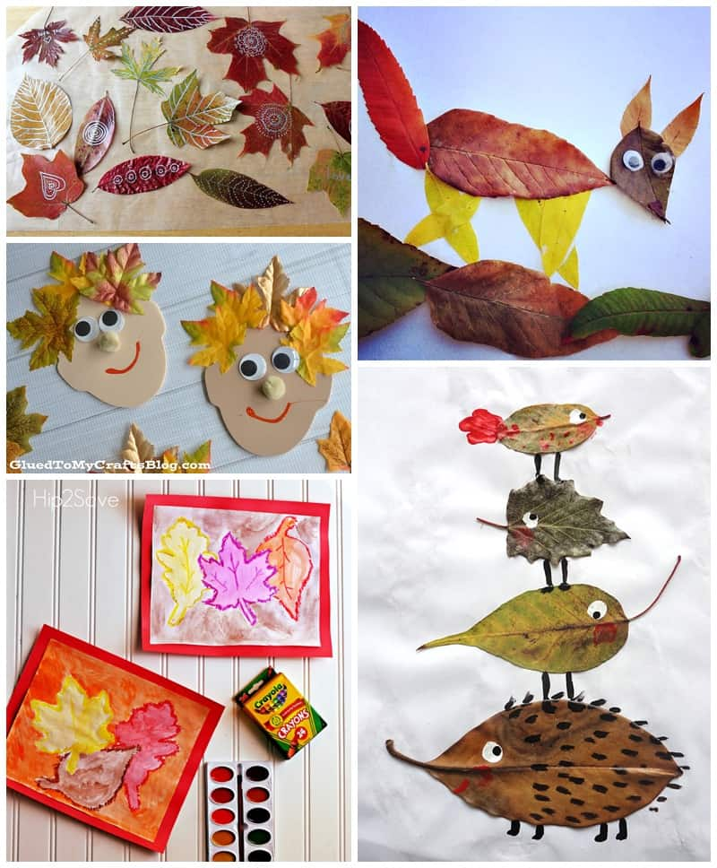 20 ARTSY FALL LEAF PROJECTS FOR KIDS