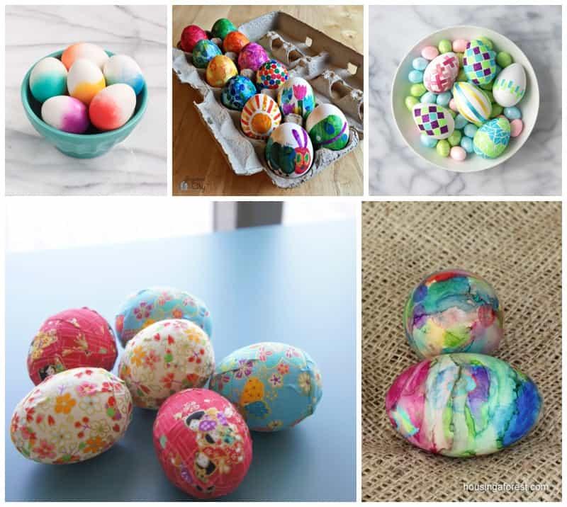 Eric Carle Inspired Eggs
