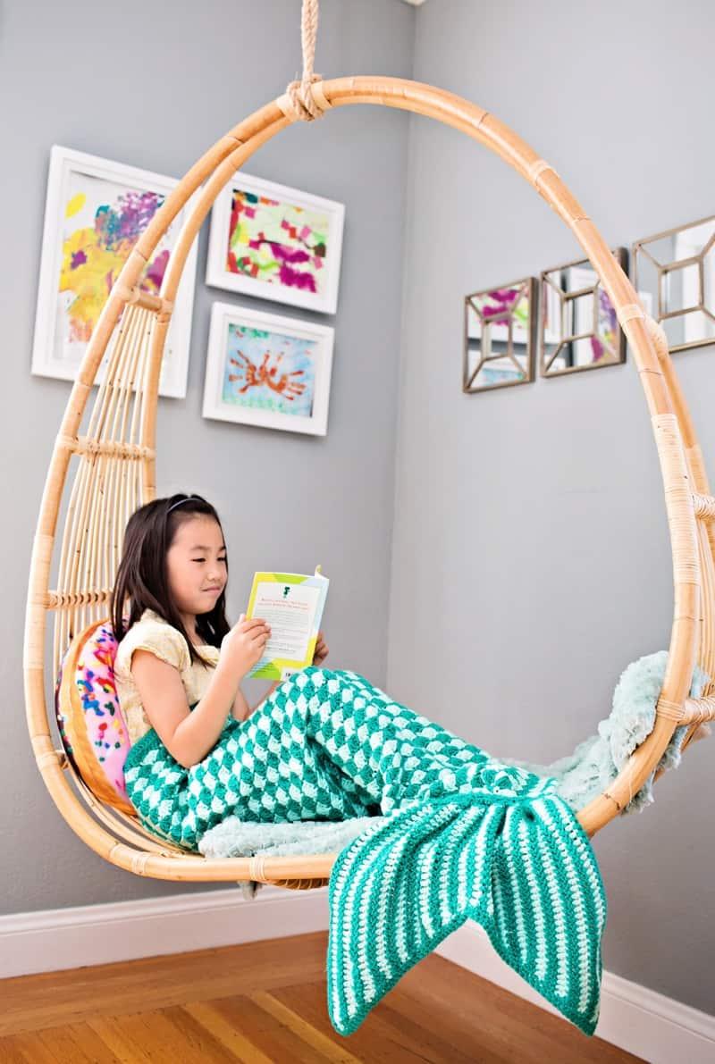 hello wonderful handmade crochet mermaid tail blankets for kids