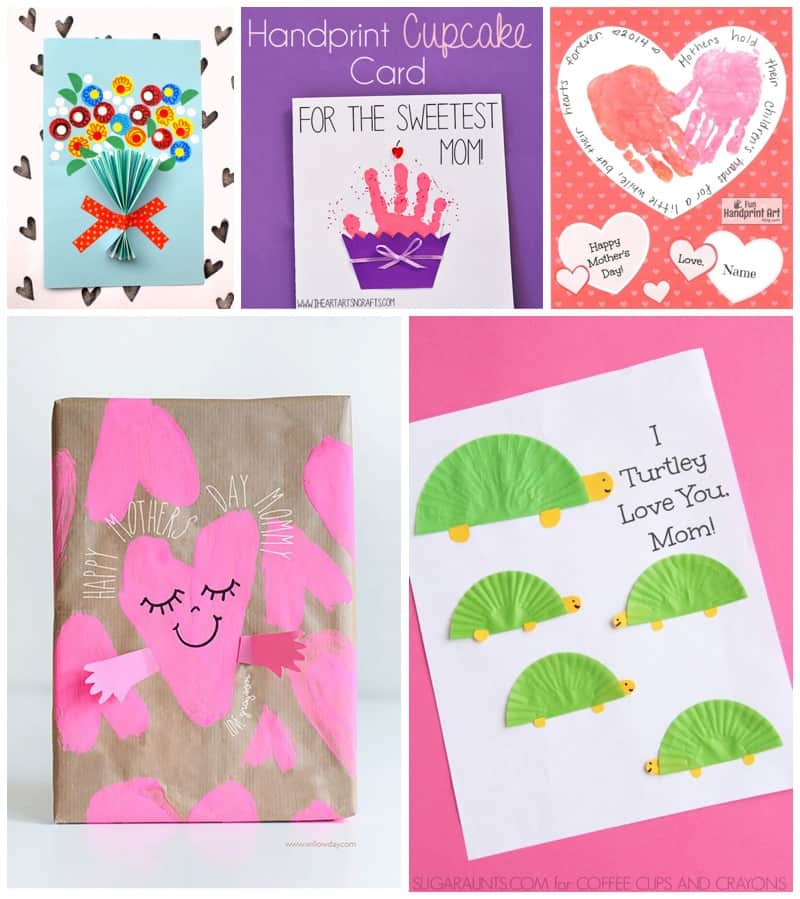 image relating to Sweetest Day Cards Printable identify 20 Adorable Boy or girl-Designed Moms Working day Playing cards