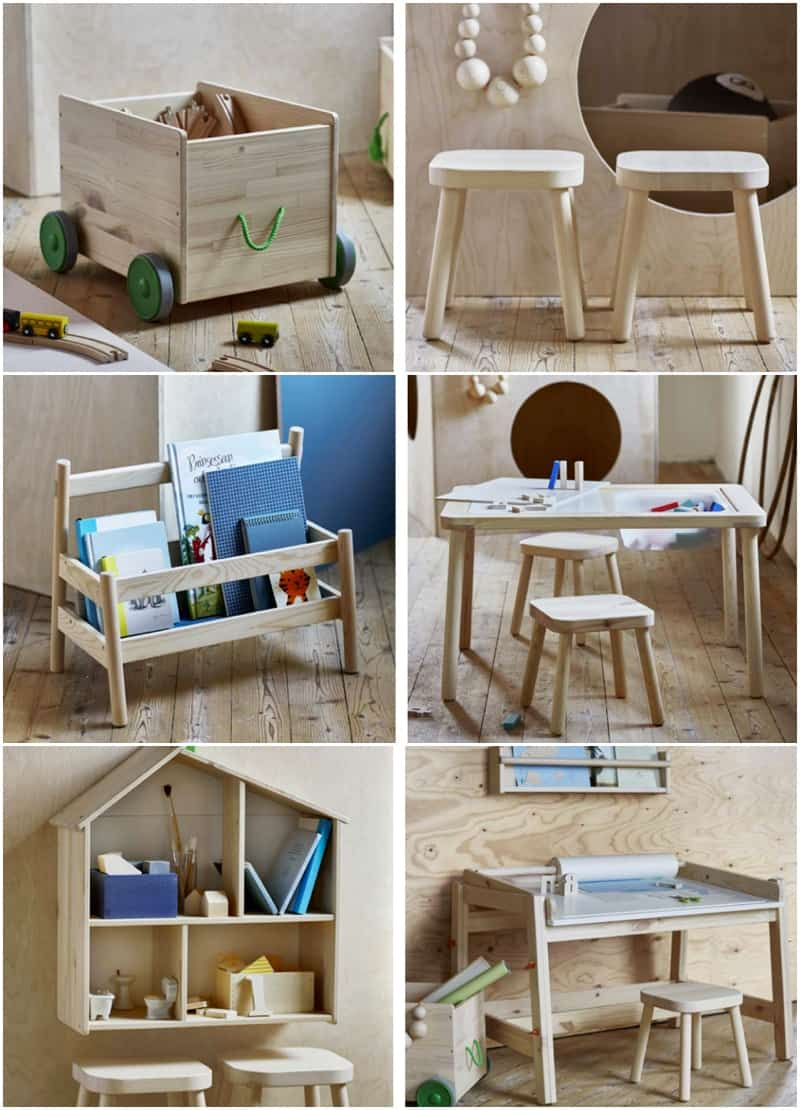 PLAYROOM GOALS NEW WOODEN KIDS FURNITURE LINE FROM IKEA